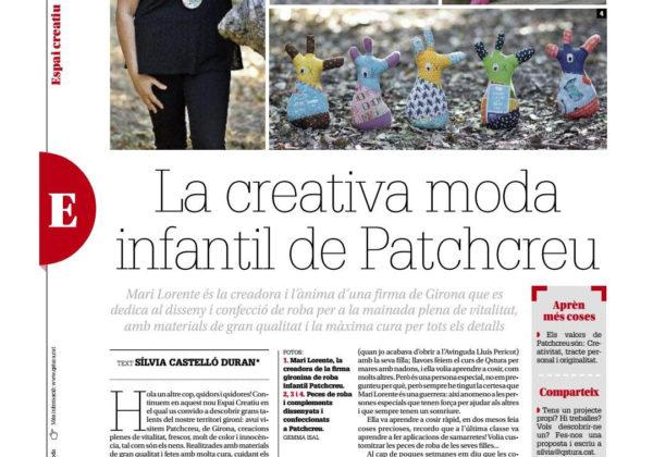 La creativa moda infantil de Patchcreu