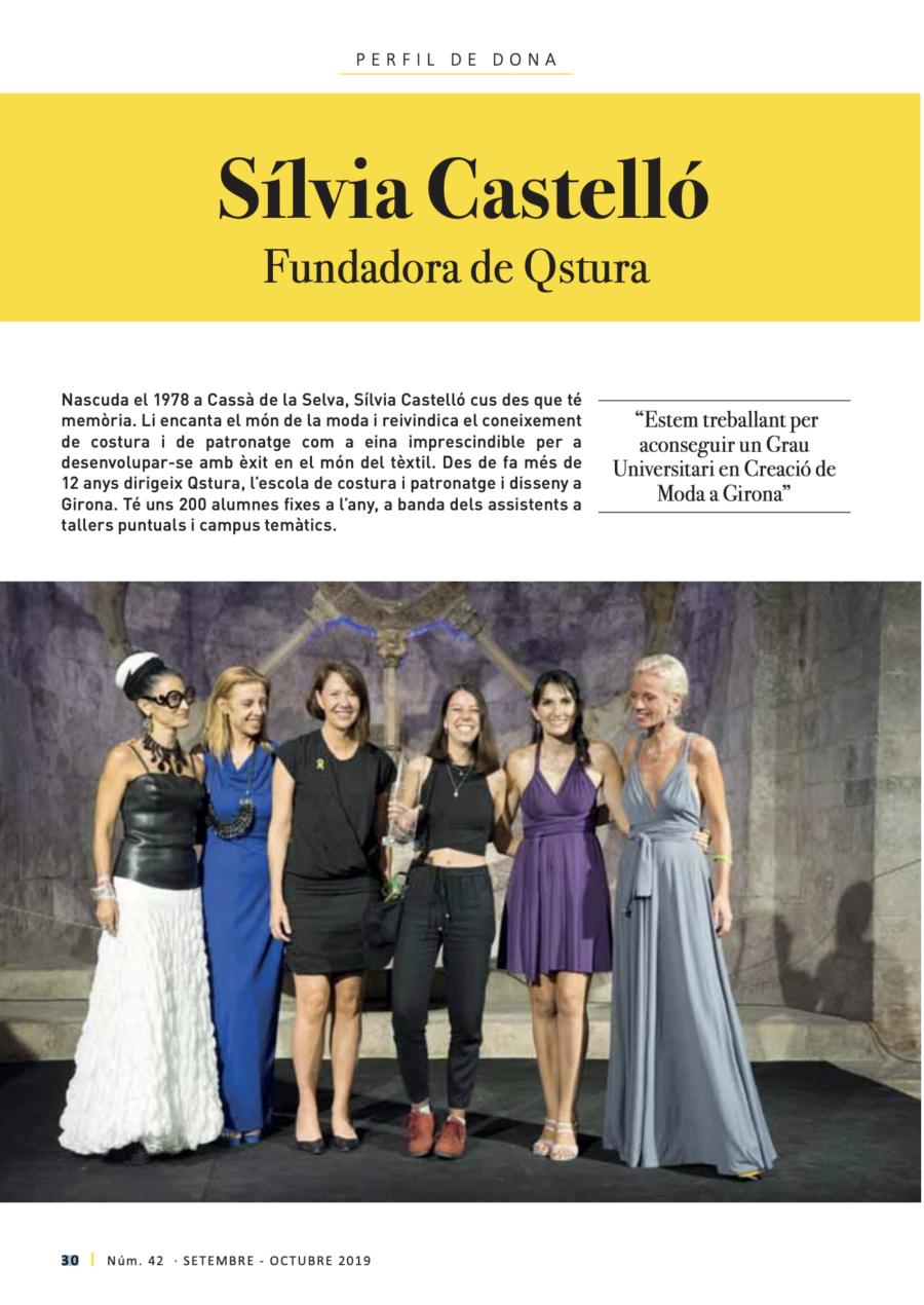 Entrevista a Sílvia Castelló a la revista Girona Gastronòmica